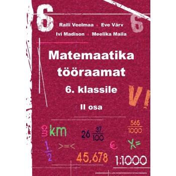 Matemaatika tööraamat VI klassile II osa