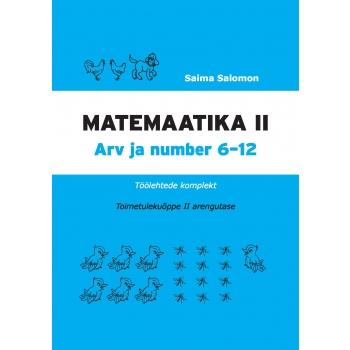 Matemaatika töölehtede komplekt, II osa. II arengutase