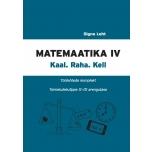Matemaatika töölehtede komplekt, IV osa. Kaal. Raha. Kell.